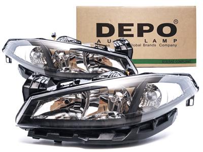 Depo Reflektory Lampy Przód Renault Laguna Ii 05 551 1154l Ldem2 551 1154r Ldem2